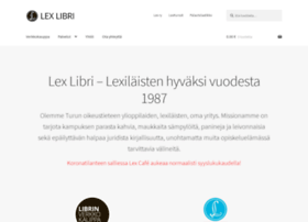 lexlibri.fi