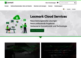 lexmark.de