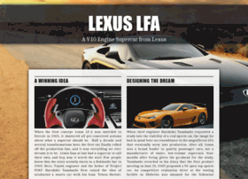 lexus-lfa.com