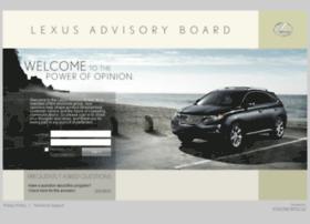 lexusadvisoryboard.com