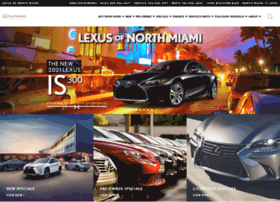 info north miami lexus of north miami new and used car dealer. Black Bedroom Furniture Sets. Home Design Ideas