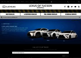 lexusoftucsonautomall.com