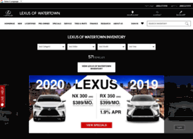 lexusofwatertown.com