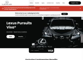 lexuspursuitsvisa.com