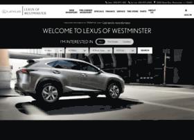 lexuswestminster.com
