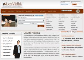 lexvidhi.com