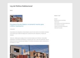 leydepoliticahabitacional.com