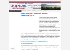 leydepoliticahabitacional.org