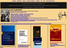 leydesdorff.net