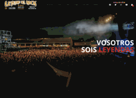 leyendasdelrockfestival.com