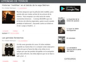 leyendasdeterror.com.mx