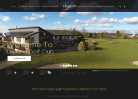 leylandgolfclub.co.uk