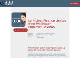 lg-project-finance-limited.job-reviews.co.uk