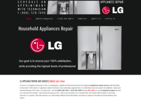 lgappliancesservice.com