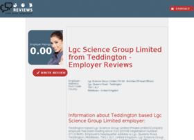 lgc-science-group-limited.job-reviews.co.uk