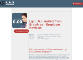 lgc-uk-limited.job-reviews.co.uk