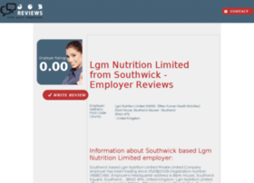 lgm-nutrition-limited.job-reviews.co.uk
