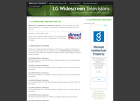 lgtvs.widescreentelevisions.co.uk