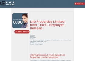 lhb-properties-limited.job-reviews.co.uk