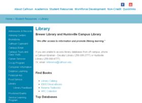 lib.calhoun.edu