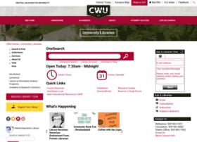 lib.cwu.edu