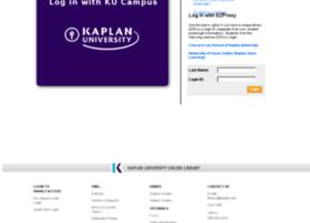 lib.kaplan.edu