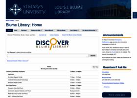 lib.stmarytx.edu