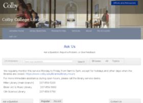 libanswers.colby.edu