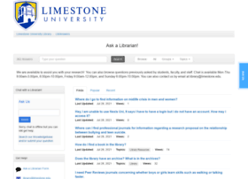 libanswers.limestone.edu