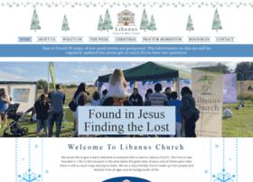 libanuschurch.com