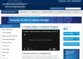 liberalstudies.georgetown.edu