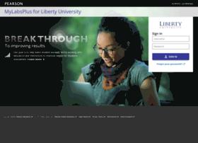 liberty.mylabsplus.com