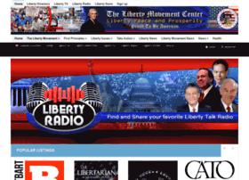 libertyradio.thelibertymovementcenter.com