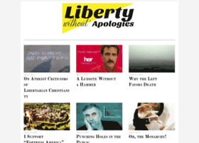 libertywithoutapologies.com