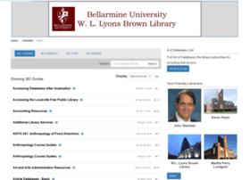 libguides.bellarmine.edu