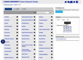 libguides.logan.edu