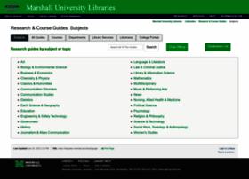 libguides.marshall.edu
