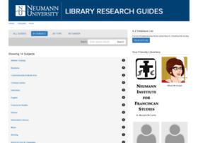 libguides.neumann.edu