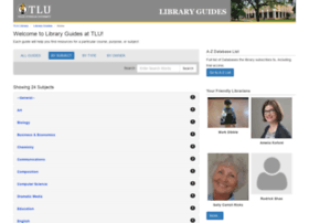 libguides.tlu.edu