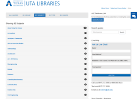 libguides.uta.edu
