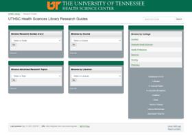 libguides.uthsc.edu