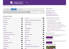 libguides.uww.edu