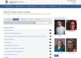 libguides.weber.edu
