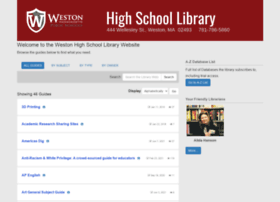 libguides.weston.org