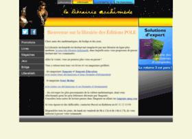 librairie-archimede.com