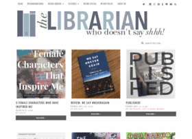 librarianwhodoesntsayshhh.com