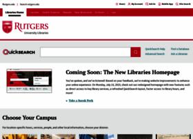libraries.rutgers.edu