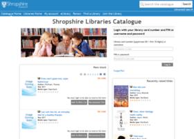 libraries.shropshire.gov.uk