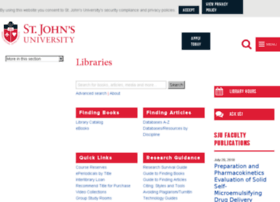 libraries.stjohns.edu