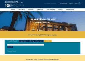 library.aucegypt.edu